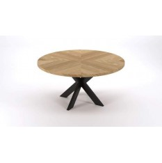 round-dining-table-sawmark-wood-top-and-iron