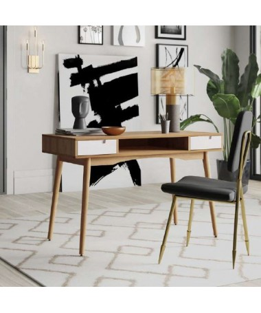 Wooden Desk with two...