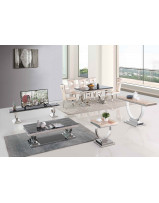 stainless-steel-dining-table-set