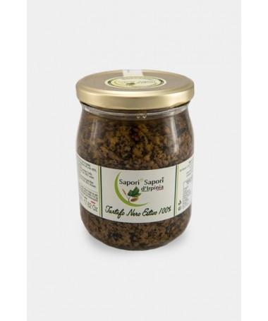 100% ground black truffle...