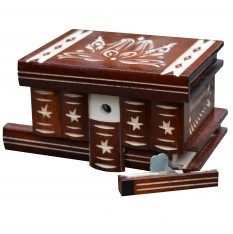 Hungarian Puzzle Box, Jewelry Box, Jewellery Box, Jewelry