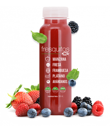 RED FRUITS JUICE 250ML